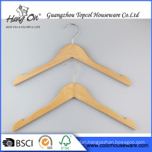 Custom Wooden Suits Hanger Wood Hanger Luxury Engraved Logo