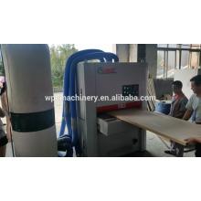 Plastic Wood Deck board sanding machine