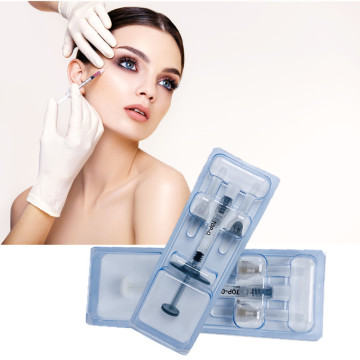 1ML Cross Linked Hyaluronic Acid Gel Injection HA Dermal Filler Under Eye Fillers