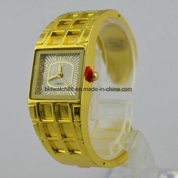 Браслет наручные часы кварцевые золотые модные браслеты женские часы