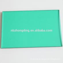ISO9001 fabricación de corte PC placa transparente hueco hoja de policarbonato