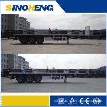 China Best-seller 3 Eixos 40ft 13m Mesa Semi Reboque