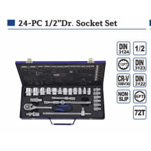 "High Grade 24PCS 1/2"" Socket Set"
