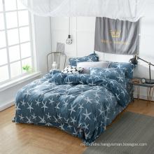 Warm Soft Plush Silky High Quality Flannel Sheet Bedding