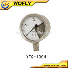 explosion proof gas oil pressure gauge