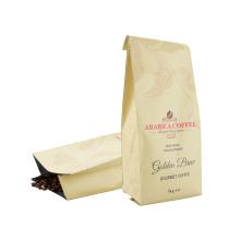 Custom Printing Made Logo Resealable Aluminum Foil Plastic Free Coffee Biodegradable Bag