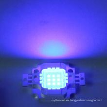 9-12v 10w Blue led chip integrado de alta potencia LED Bead