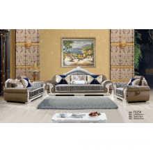New Classic Sofa, Dubai Fabric Sofa, Living Room Furniture (F525)