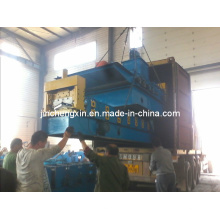 Máquina formadora de tejas de cresta