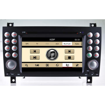 Special Car DVD GPS for Mercedes-Benz Slk 171 Navigation with Bluetooth/Radio/RDS/TV/Can Bus/USB/iPod/HD Touchscreen Function (HL-8801GB)