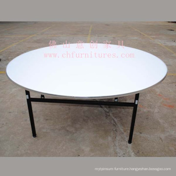 Round Banquet Table with Aluminum Edging (YC-T05-02)