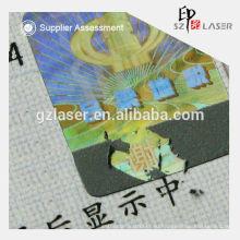 Голограмма безопасности скрест печать наклейки производителей
