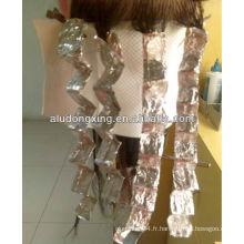 Feuillet en aluminium rouleau de coiffure pour salon