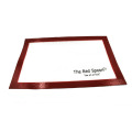 Customized full size silicone baking mat for grill