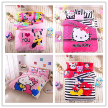 50%polyester 50%cotton printed fabric for children