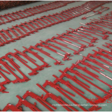 Barbed or smooth fence wire high tensile stretcher