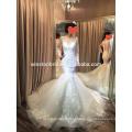 2016 производителя Китая платье с длинным рукавом кружева свадебные платья Турция