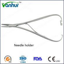 Ent Basic Chirurgische Instrumente Gerade mit Lock Nadelhalter Zange