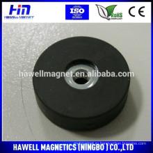 Магнит с покрытием из неодимового каучука, резиновый держатель