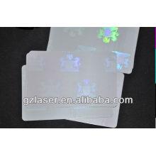 Hologramm-Karten-Druckband