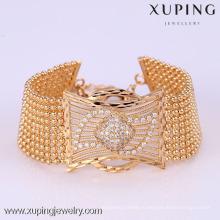72164 Xuping мода женщина браслет с золотым покрытием