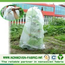 Tissu non tissé pour l'agriculture, textile TNT pour couverture de fruits