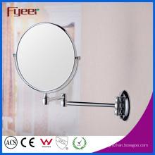 Fyeer Round Folding Bathroom Makeup Wall Mirror (M0188)