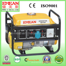 Generador portátil de la gasolina de la fase única del proveedor de 1kw China