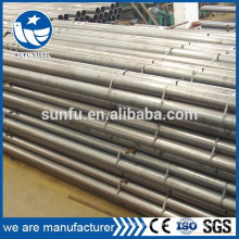 Factory round black steel pipe supply company