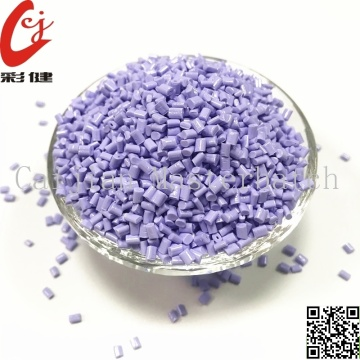 PET Purple color Masterbatch Granules