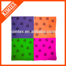 Brand unique cheap cotton printed bandana