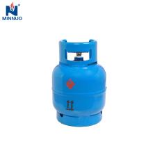 Recarregável Dominica 3 kg propano tanque de cilindro de gás lpg