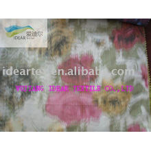 Transfer Printed Polyester Memory Fabric For Coat