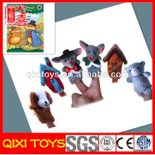 Latest style make felt finger puppets and story