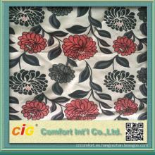 Tela del sofá de Chenille de la flor