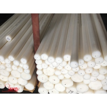 أبيض مقذوف DIA 15-400mm Polyethylene HDPE Rod