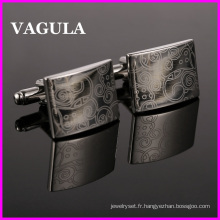 Boutons de manchettes VAGULA gros Laser (HL10148)