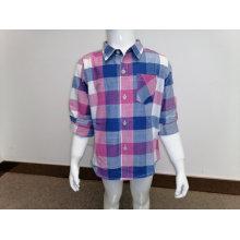Chemise décontractée pour garçons en automne et au printemps