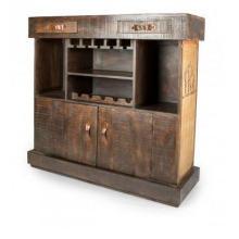 Unité de bar en bois