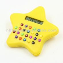 8 Digit Star Shape Calculator for Promotion