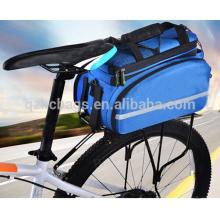 Saco de bicicleta de ciclismo saco de bicicleta de tronco traseiro saco de transporte