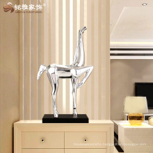 Resin animal figurine abstract horse statue decoration crafts