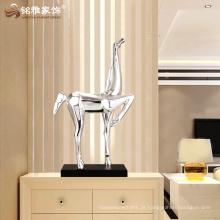 Figurinha de animal de resina esboço de estátua de estátua de cavalo