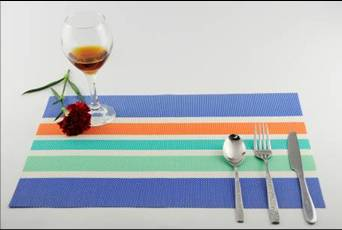 Stripe series of household business dining mat decoration6