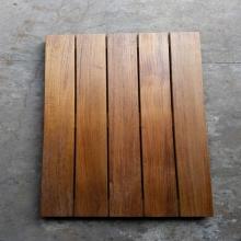 Тик Открытый палубу плитки гладкой поверхности Бирмы