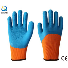 Terry Napping Lining Latex 3/4 Foam Coated Work Glove