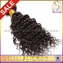 Völlig Gewirr freie tiefe Welle indische remy Zopf Haare