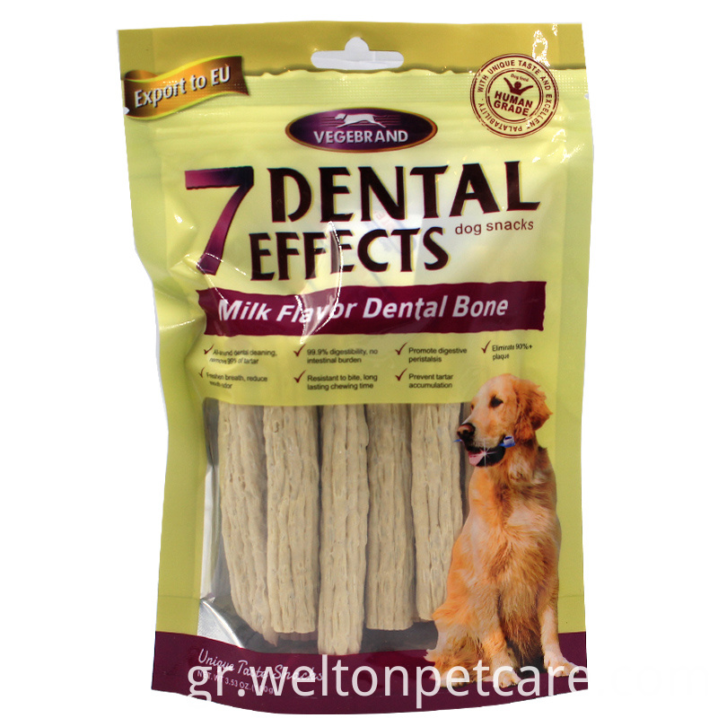Natural Puffy Stick dog milk chew