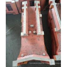 Servicio personalizado de fabricación de acero para mecanizado de componentes grandes