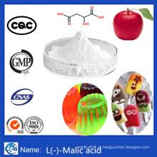 Preço de Fábrica 99% Pureza Food Additive Powder Malic Acid